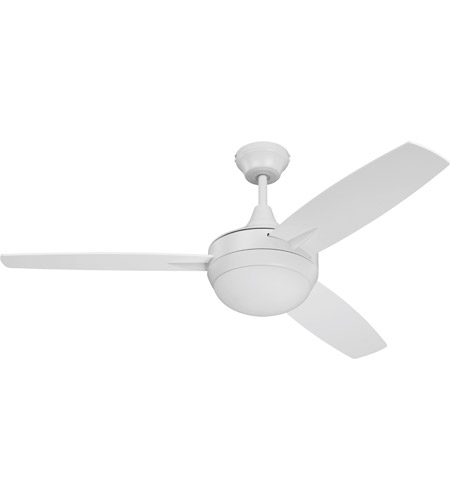 Craftmade tg52w3 targas 52 inch white with reversible white blades craftmade tg52w3 targas 52 inch white with reversible white blades ceiling fan blades included aloadofball Images