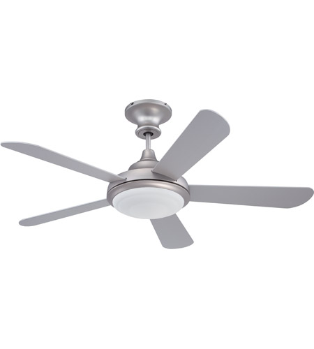 craftmade triumph ceiling fan with blades included in brushe