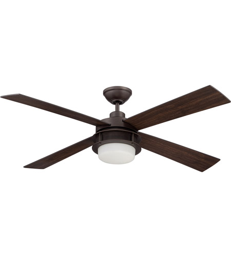 craftmade ubr48esp4 urban breeze 48 inch espresso with walnut blades ceiling fan
