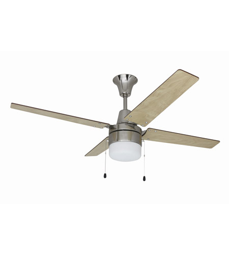 Craftmade ubw48bc4c1 wakefield 48 inch brushed chrome ceiling fan craftmade ubw48bc4c1 wakefield 48 inch brushed chrome ceiling fan with blades included mozeypictures Gallery