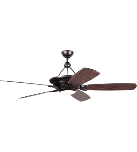 Craftmade Vs60ob5 Led Vesta 60 Inch Oiled Bronze With Oiled Bronze Mahogany Blades Ceiling Fan