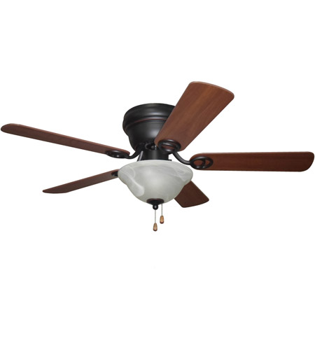 Craftmade WC42ORB5C1 Wyman 42 inch Oiled Rubbed Bronze with Reversible Classic Walnut and Walnut Blades Ceiling Fan in Oil Rubbed Bronze photo