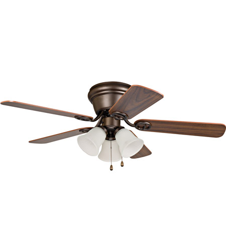 Craftmade WC42ORB5C3F Wyman 42 inch Oiled Rubbed Bronze with Reversible Classic Walnut and Walnut Blades Ceiling Fan in Oil Rubbed Bronze photo