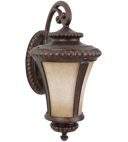 Craftmade Z1224-PRO Prescott 1 Light 24 inch Peruvian Bronze Outdoor Wall Lantern, Large photo thumbnail