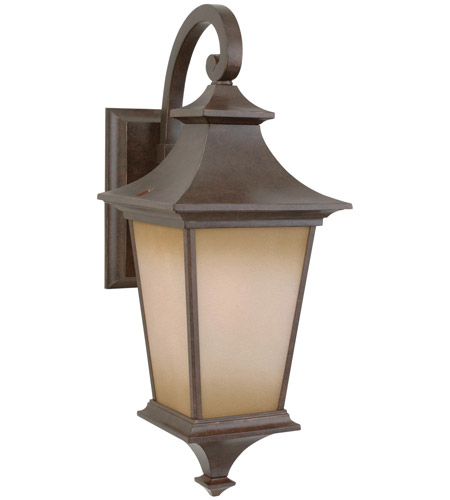 Craftmade Z1314-AG Argent 1 Light 21 inch Aged Bronze Textured Outdoor Wall Lantern, Medium photo