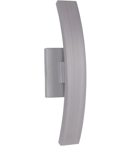 Craftmade Z1900-BAO-LED Arcus LED 16 inch Brushed Aluminum Outdoor Pocket Sconce, Small photo