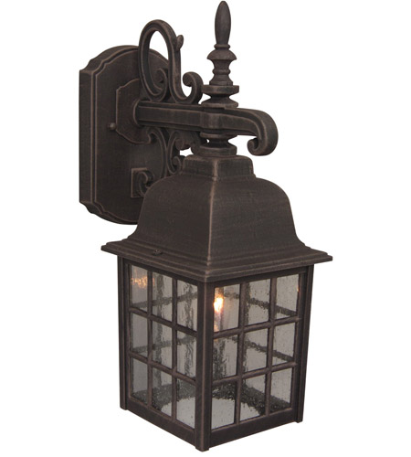 Grid Cage Outdoor Wall Lights