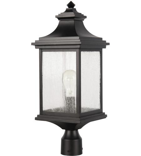 Landscape Lighting Mn: Craftmade Z3215-MN Gentry 1 Light 20 Inch Midnight Outdoor