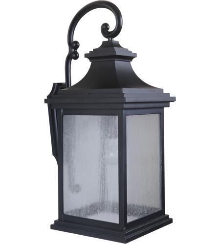 Landscape Lighting Mn: Craftmade Z3224-MN Gentry 1 Light 26 Inch Midnight Outdoor