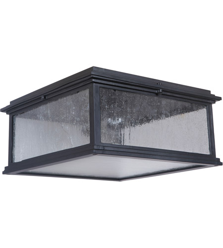 Craftmade Z3227-MN Gentry 1 Light 13 inch Midnight Outdoor Flushmount, Small photo