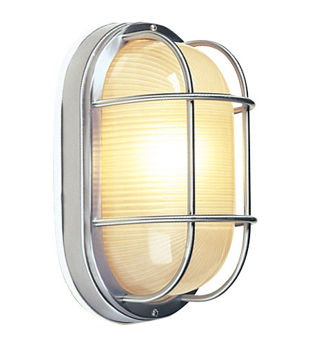 Craftmade Z397-SS Bulkheads 1 Light 11 inch Stainless Steel Outdoor Flushmount, Large photo
