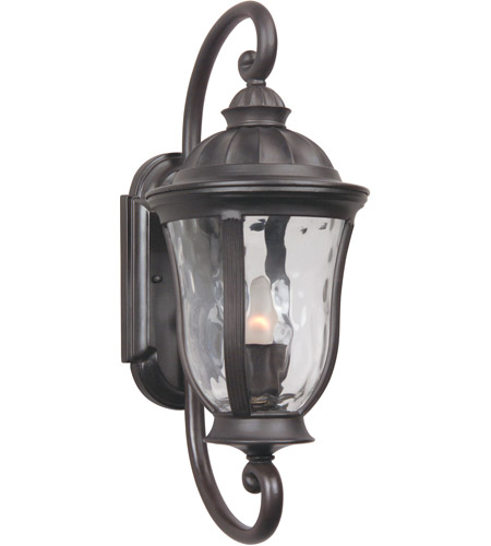 Craftmade Z6000-OBO Frances 1 Light 19 inch Oiled Bronze Outdoor Wall Lantern, Small photo thumbnail