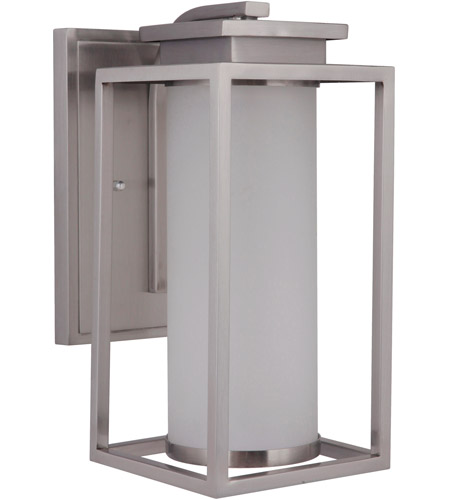 Craftmade ZA1304-SS-LED Vailridge LED 12 inch Stainless Steel Outdoor Wall Lantern, Small photo