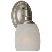 Jeremiah by Craftmade Legion 1 Light Wall Sconce in Brushed Nickel 10205BN1