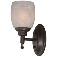 Jeremiah by Craftmade Legion 1 Light Vanity Light in Oiled Bronze 10205OB1