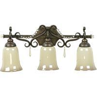 Jeremiah by Craftmade Brasilia 3 Light Vanity Light in Peruvian Bronze 10824PR3