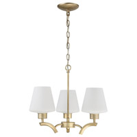 Craftmade 1123-GT Signature 3 Light 19 inch Gold Twilight Mini Chandelier Ceiling Light