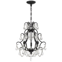 Craftmade 1133C-ESP Signature 3 Light 16 inch Espresso Mini Chandelier Ceiling Light, Jeremiah