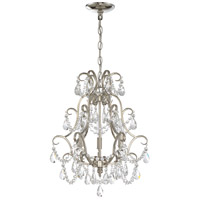 Craftmade 1133C-PLN Signature 3 Light 16 inch Polished Nickel Mini Chandelier Ceiling Light, Jeremiah