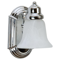 Craftmade 11708-KIT-CH1 Arch Arm 1 Light 5 inch Chrome Wall Sconce Wall Light