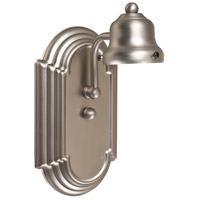 Jeremiah by Craftmade Arch Arm 1 Light Wall Sconce in Brushed Nickel 11708BN1