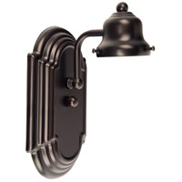 Racetrack 1 Light 5 inch Oiled Bronze Wall Sconce Wall Light