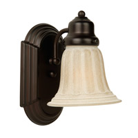 Jeremiah by Craftmade Arch Arm 1 Light Wall Sconce in Oiled Bronze 11708OB1