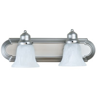 Craftmade 11718-KIT-BN2 Arch Arm 2 Light 18 inch Brushed Satin Nickel Vanity Wall Light