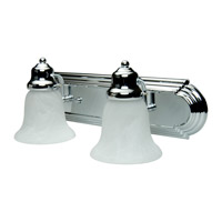 Craftmade 11718-KIT-CH2 Arch Arm 2 Light 18 inch Chrome Vanity Wall Light