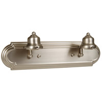 Jeremiah by Craftmade Arch Arm 2 Light Vanity Light in Brushed Nickel 11718BN2