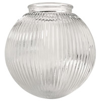 Ellington by Craftmade Dome 3.25-inch Glass in Clear Prismatic 137C