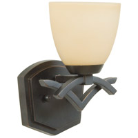 Jeremiah by Craftmade Viewpoint 1 Light Wall Sconce in Oiled Bronze Gilded 14008OBG1