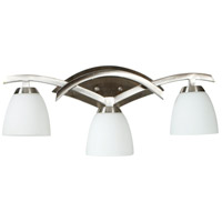 Jeremiah by Craftmade Viewpoint 3 Light Vanity Light in Brushed Nickel 14024BN3