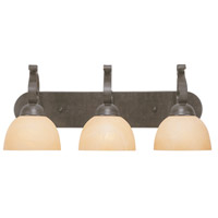 Jeremiah by Craftmade Brookfield 3 Light Vanity Light in Brownstone 14403-BST
