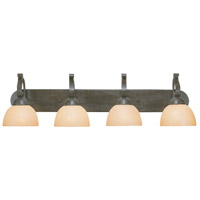 Jeremiah by Craftmade Brookfield 4 Light Vanity Light in Brownstone 14404-BST