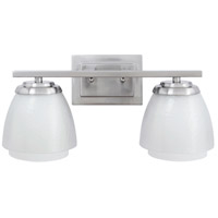 Craftmade Piedmont Vanity Light in Brushed Nickel 14617BNK2