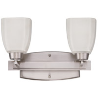 Craftmade 14715BNK2 Bridwell 2 Light 16 inch Brushed Satin Nickel Vanity Light Wall Light in Brushed Nickel