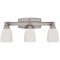Craftmade 14721BNK3 Bridwell 3 Light 24 inch Brushed Satin Nickel Vanity Light Wall Light in Brushed Nickel