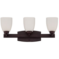 Craftmade Bridwell Vanity Light in Oiled Bronze 14721OB3