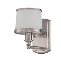 Craftmade Merced 1 Light Wall Sconce in Brushed Nickel 14805BNK1