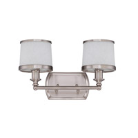 Craftmade Merced Vanity Light in Brushed Nickel 14815BNK2