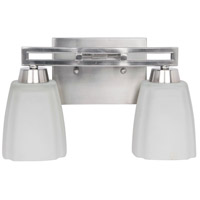 Craftmade Sumner 2 Light Vanity Light in Brushed Nickel 14912BNK2