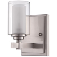 Craftmade 16705BNK1 Celeste 1 Light 5 inch Brushed Polished Nickel Wall Sconce Wall Light