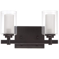 Craftmade 16712ESP2 Celeste 2 Light 12 inch Espresso Vanity Light Wall Light