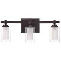 Celeste 3 Light 20 inch Espresso Vanity Light Wall Light