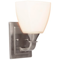 Craftmade 16906BNK1 Lawton 1 Light 7 inch Brushed Polished Nickel Wall Sconce Wall Light, Jeremiah