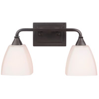 Lawton 2 Light 18 inch Espresso Vanity Light Wall Light, Jeremiah