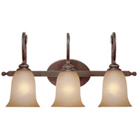 Craftmade 21703-AGT Preston Place 3 Light 24 inch Augustine Vanity Light Wall Light in Light Umber Etched