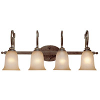 Jeremiah by Craftmade Preston Place 4 Light Vanity Light in Augustine 21704-AGT