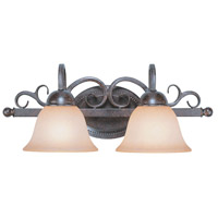 Jeremiah by Craftmade Sheridan 2 Light Vanity Light in Forged Metal 22002-FM